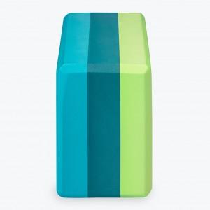 05-62207_Tri-ColorYogaBlock_BlueGreen_B